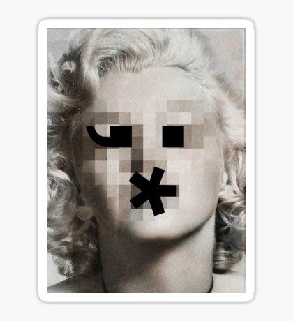 The Bombshell Emoticon Sticker
