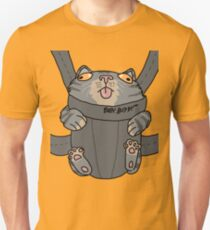 5a29e7b8288 Kitty in a Baby Sling Unisex T-Shirt