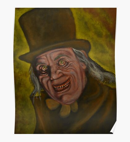 Lon Chaney in London after midnight Poster