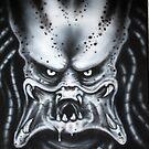 Predator Portrait by Lee Twigger