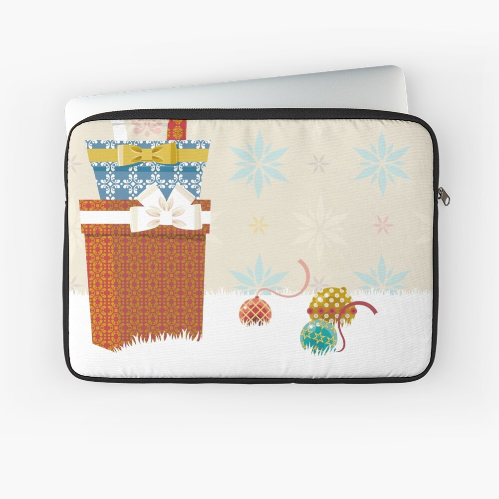 Gifts. Christmas time. Laptop Sleeve