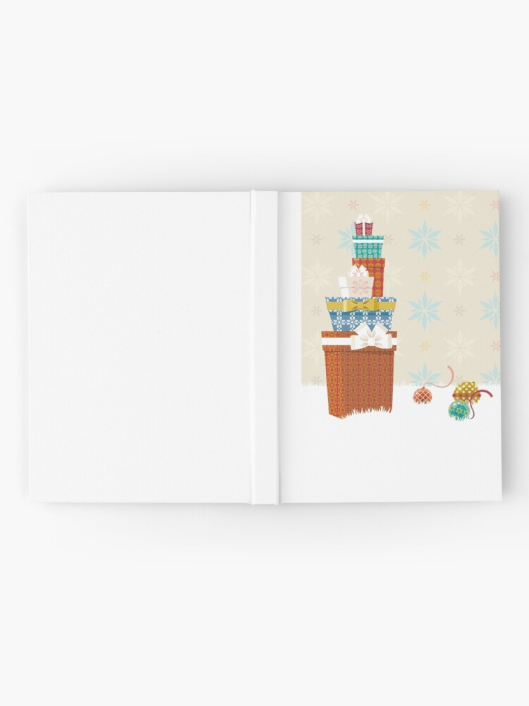 Alternate view of Gifts. Christmas time. Hardcover Journal
