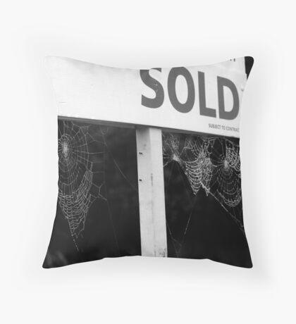 Housing Market Throw Pillow