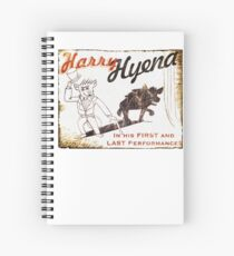 Harry Hyena Spiral Notebook