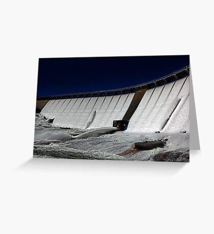 Wellington Dam - Collie Western Australia Greeting Card