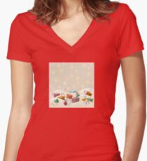 Winter Gifts Fitted V-Neck T-Shirt