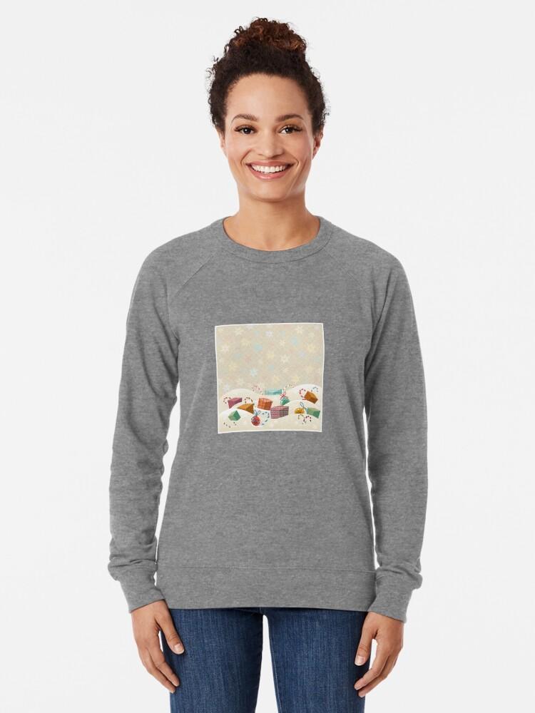 Alternate view of Winter Gifts Lightweight Sweatshirt