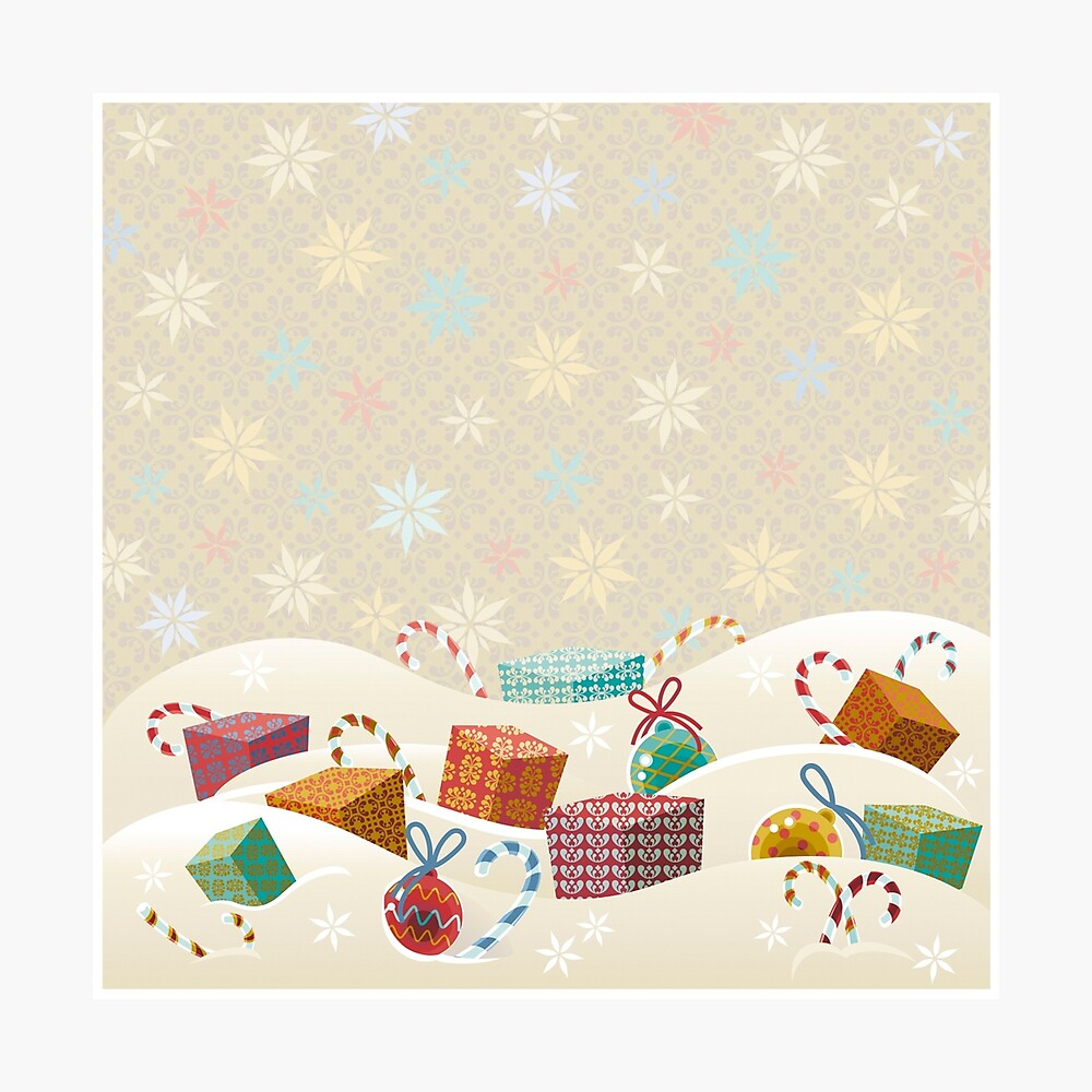 Winter Gifts Photographic Print