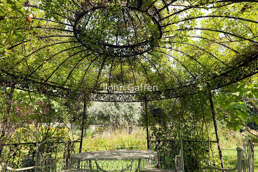 Gazebo in the Secret Gardens by John Gaffen