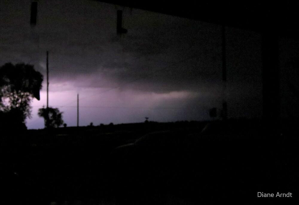Heat Lightning...A Stormy Autumn by Diane Arndt
