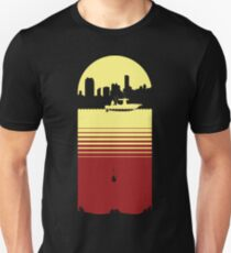 Slice of Life (Yellow/Red) Slim Fit T-Shirt