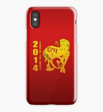 Year of The Horse 2014 iPhone Case