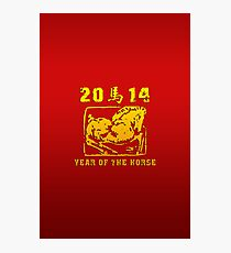 Year of The Horse 2014 Photographic Print