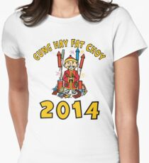 Happy Chinese New Year 2014 Women's Fitted T-Shirt