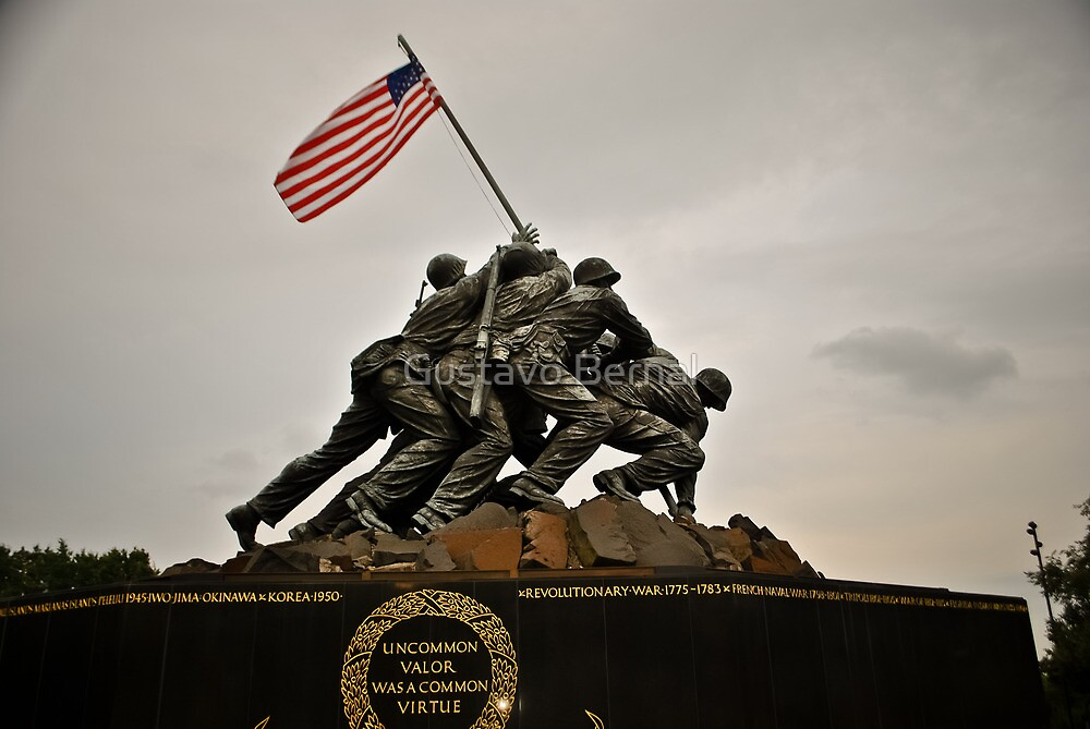 Iwo Jima Memorial by Gustavo Bernal