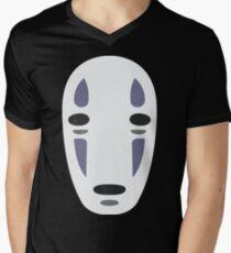 No Face - Spirited Away Men's V-Neck T-Shirt