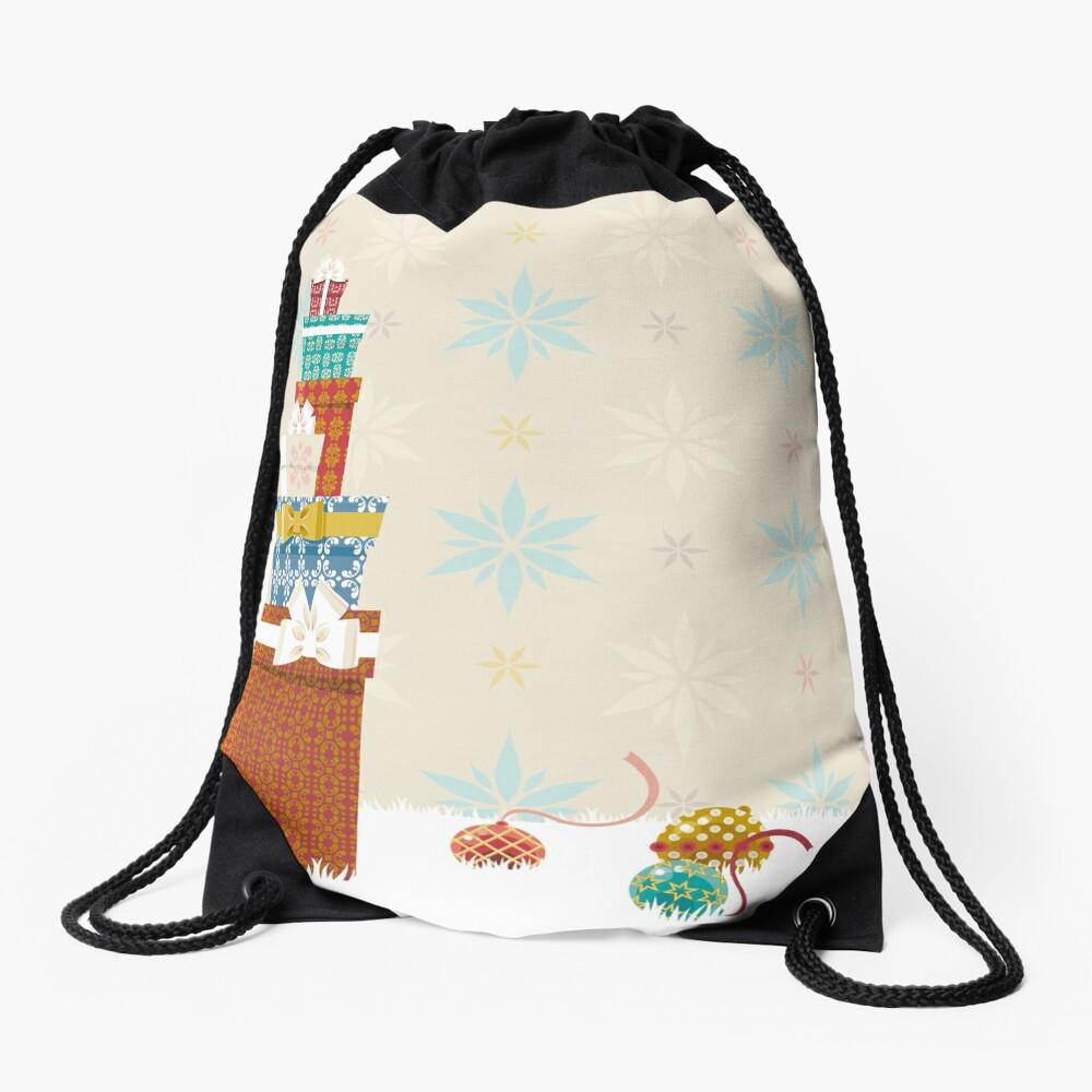 Gifts. Christmas time. Drawstring Bag