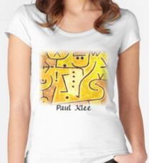 Paul Klee - Red Waistcoat Women's Fitted Scoop T-Shirt