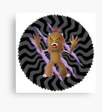 Monster hunter Canvas Print