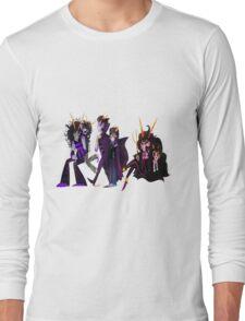 Ancestors: Eridan/Dualscar, Feferi/Condesce, Gamzee/Highblood Long Sleeve T-Shirt