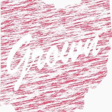 Ohio Grown Distressed look by JamesChaffin
