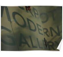 Modern Gallery Poster