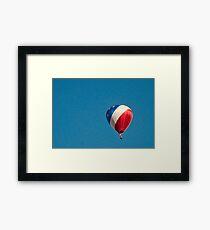 A Patriotic Balloon Framed Print