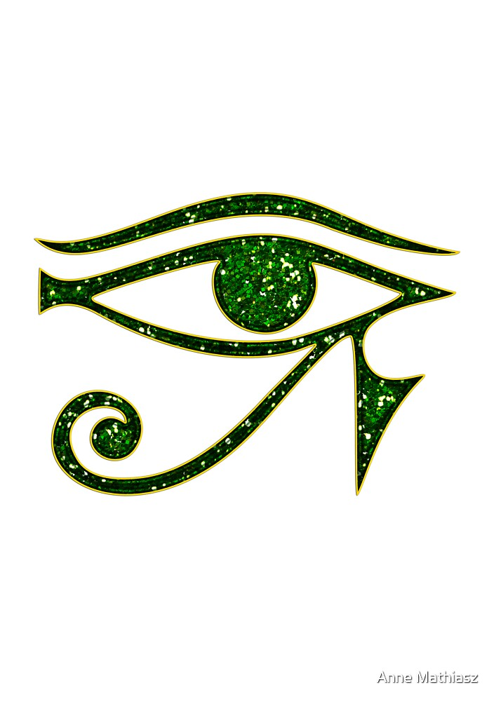 EYE of Horus/ Ra, reverse moon eye of Thoth/ by nitty-gritty