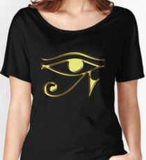 EYE of Horus, Protection & Wisdom Women's Relaxed Fit T-Shirt