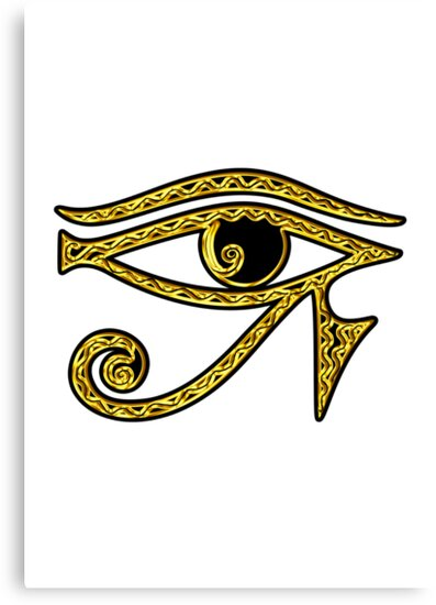 EYE OF HORUS - Protection Amulet by nitty-gritty