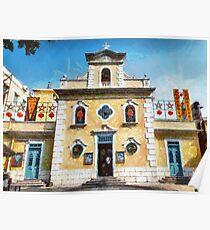 St. Francis Xavier Chapel, Macau Poster