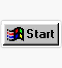 Start Sticker