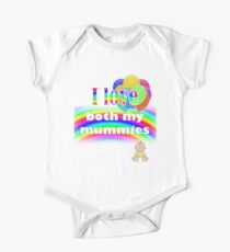 I love both my mummies: lesbian parenting Kids Clothes