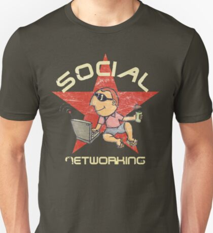 Social Networking - Vintage T-Shirt