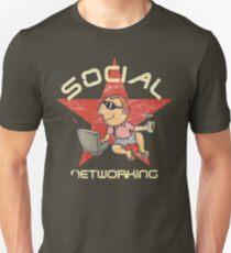 Social Networking - Vintage Unisex T-Shirt