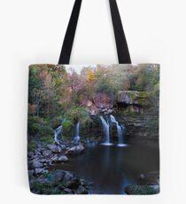 Fall Water Fall Tote Bag