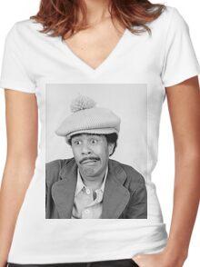 Superbad - Richard Pryor Women's Fitted V-Neck T-Shirt