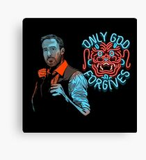 Only God Forgive Drawing Canvas Print