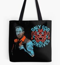 Only God Forgive Drawing Tote Bag