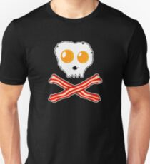 Bacon & Eggs Skull Unisex T-Shirt