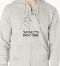 Studio Ghibli Totoro Zipped Hoodie
