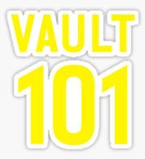 Vault 101 Sticker