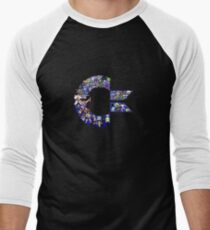 C64 Characters Men's Baseball ¾ T-Shirt