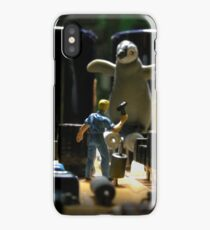 Infestation- penguin iPhone Case/Skin