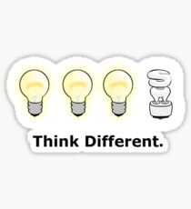 Think Different. Sticker