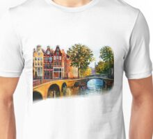 Amsterdam faded Unisex T-Shirt
