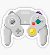 8Bit GameCube Controller Sticker