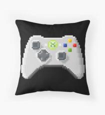 8Bit Xbox Controller Throw Pillow