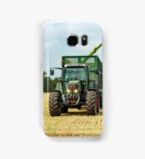 Farm Machinery, Forage Harvesting Samsung Galaxy Case/Skin