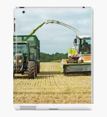 Farm Machinery, Forage Harvesting iPad Case/Skin
